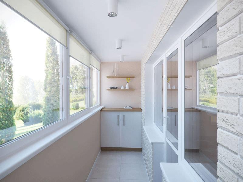 Руководство по отделке: материалы для стен балкона