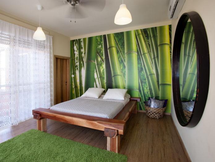 фотообои с изображением бамбука