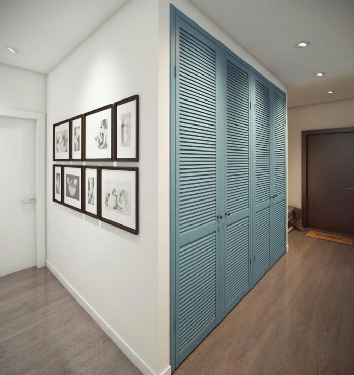 дизайн прихожей в квартире 52 кв. м.