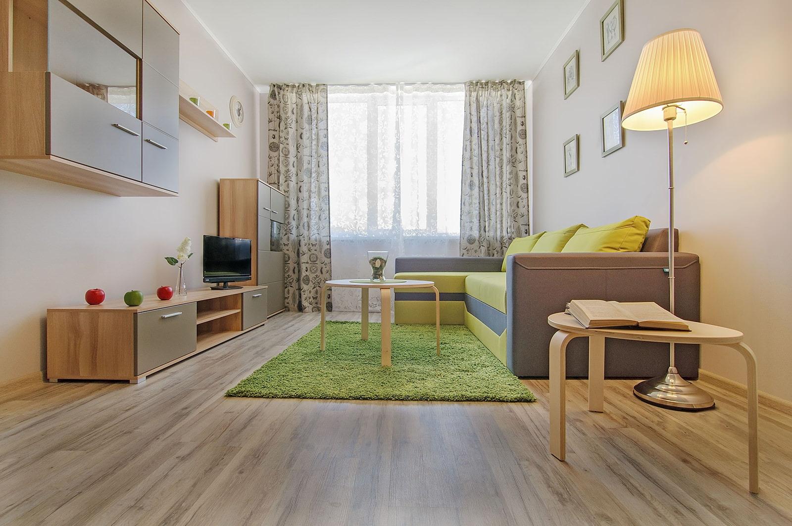 Как благоустроить однокомнатную квартиру фото