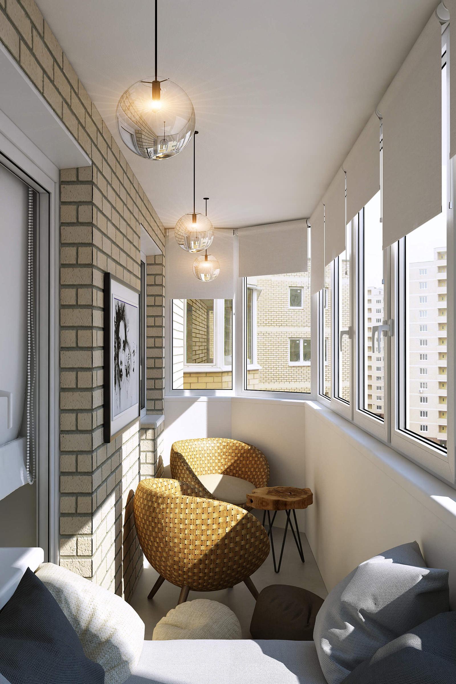 Современный дизайн однокомнатной квартиры 43 кв. м. от студи.