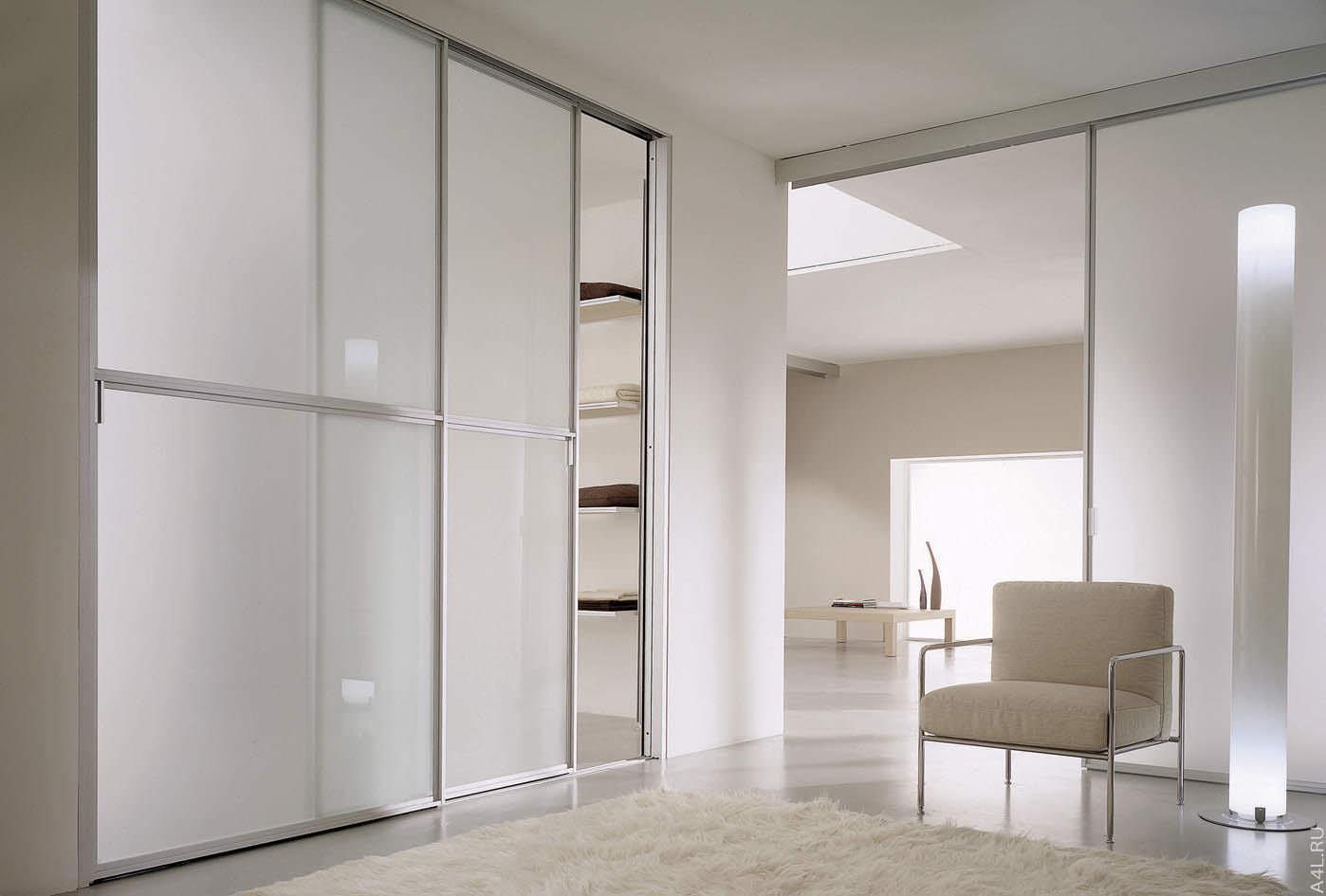 варианты дизайна фасадов дверей шкафа купе
