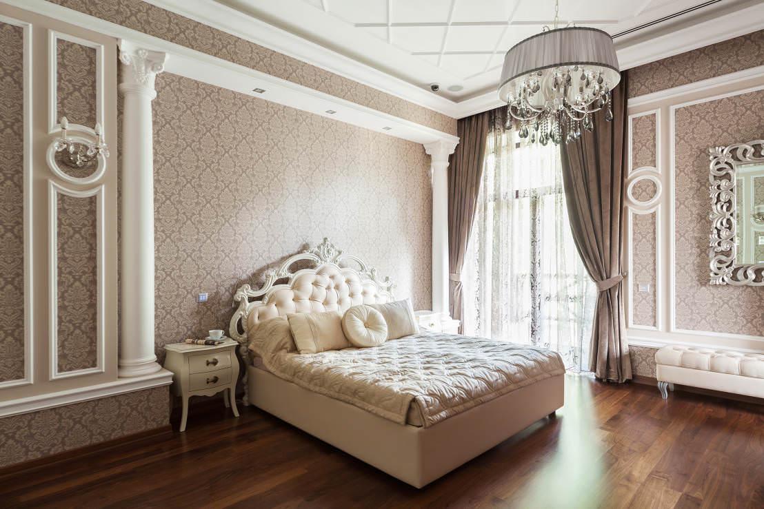 Спальня в классическом стиле картинки