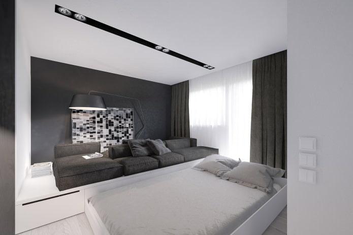 выдвижная подиум-кровать