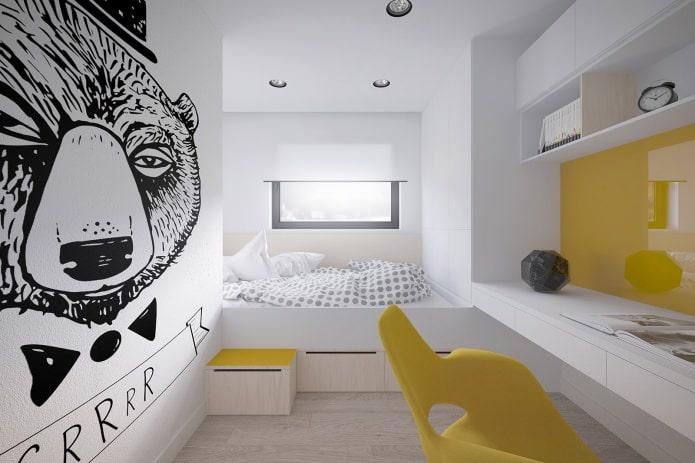 Стильный и функциональный дизайн 2- комнатной квартиры 50 кв