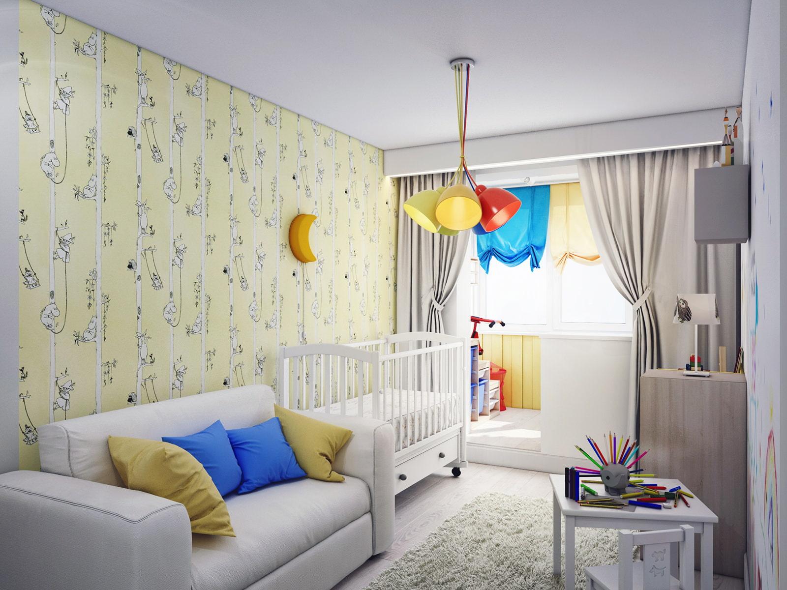Спальни для детей: современный и стильный дизайн (65 фото но.