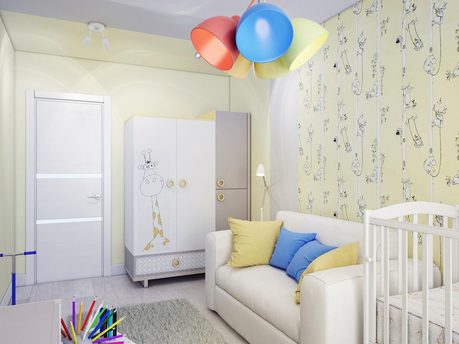 действительно есть дизайн детской комнаты от 8 лет правило