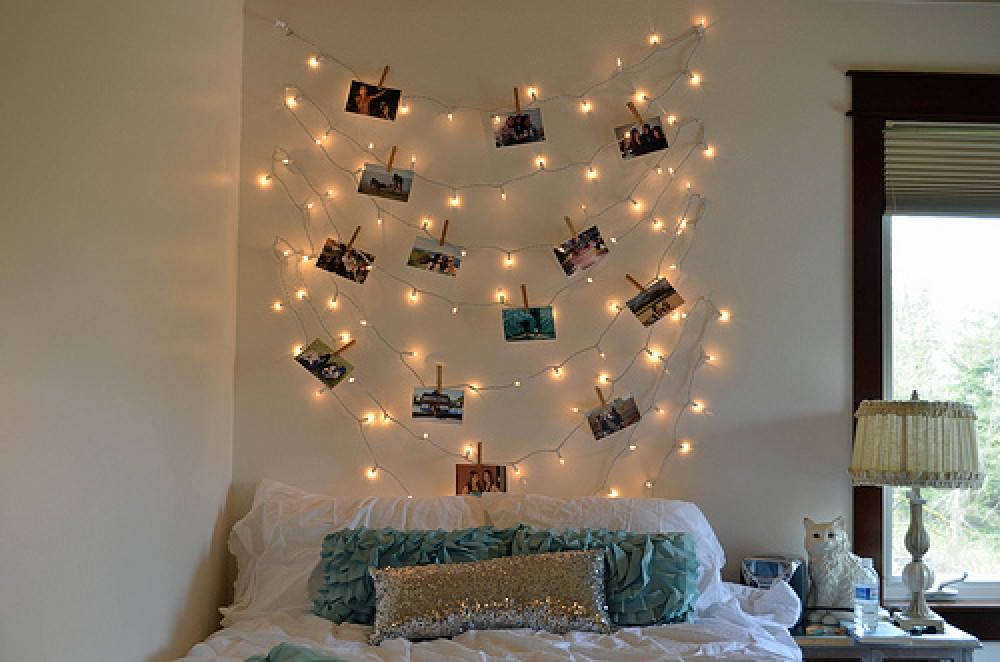 - Wand lichterkette ...