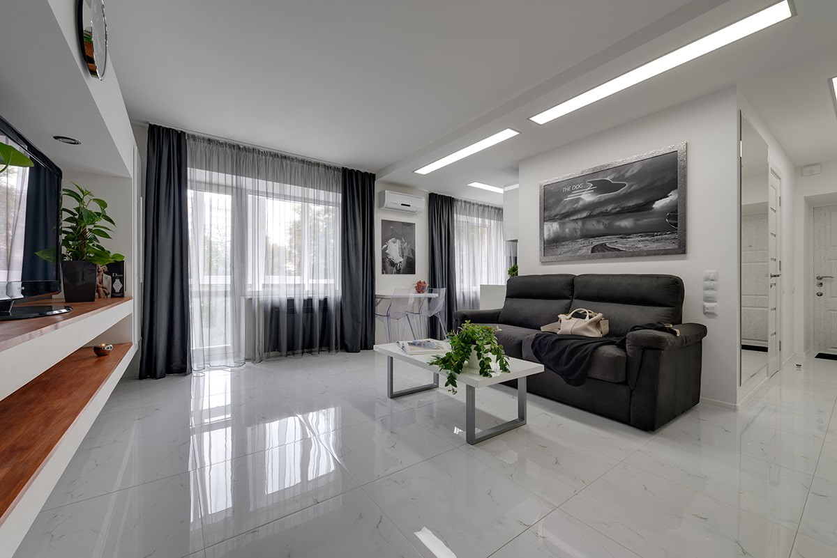 Дизайн двухкомнатной квартиры 45 кв м фото