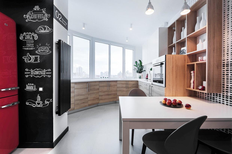 Идеи дизайна кухни 6 кв. М
