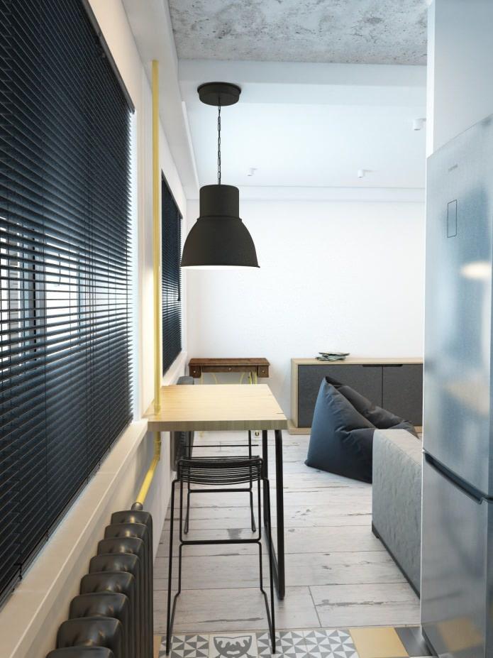 кухня в хрущевке совмещенная с гостиной