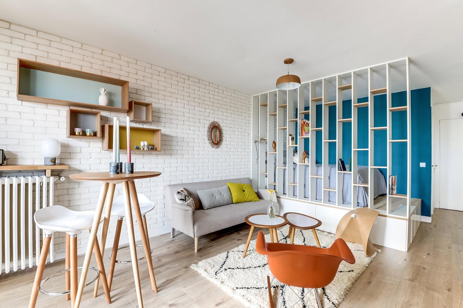Дизайн квартир-студий 25 кв м фото