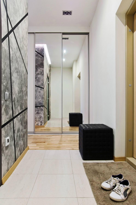 Дизайн прихожей в однокомнатной квартире 2018 современные идеи