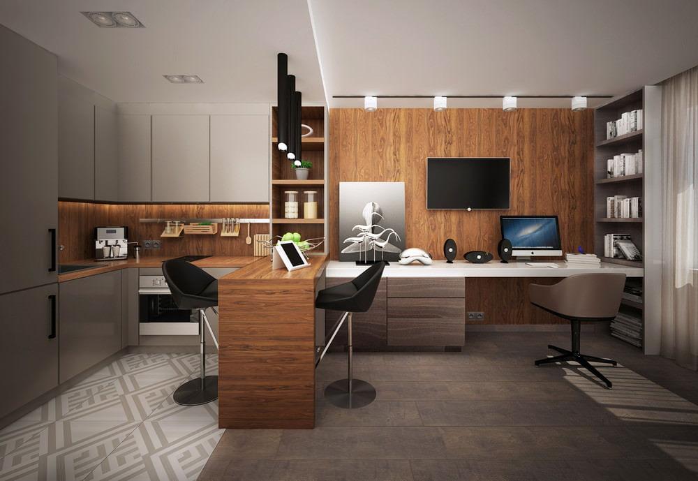 Квартира-студия дизайн фото 25 кв м