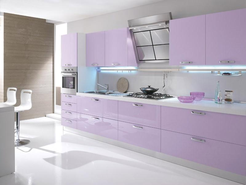 кухни бело лавандовый цвет фото началось как
