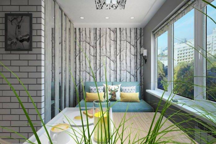 Дизайн интерьера маленькой квартиры-студии 14 кв. м.