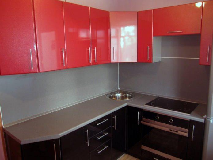 МДФ фасады для кухни с покрытием ПВХ