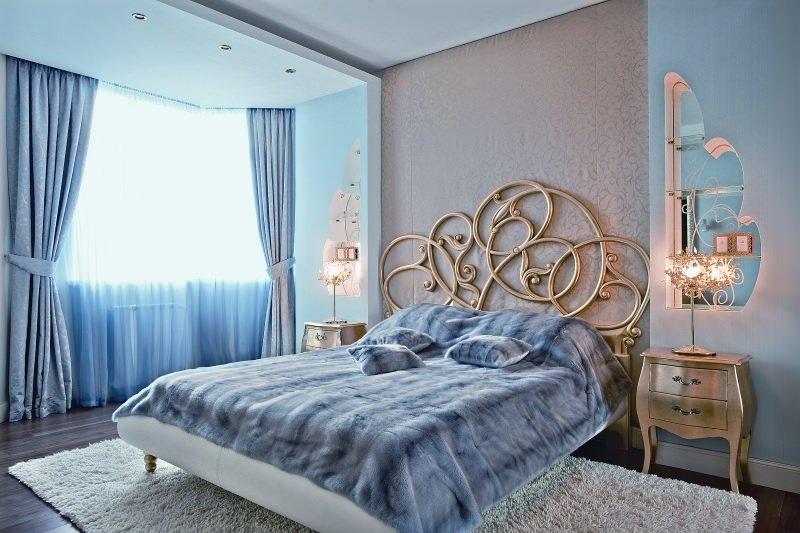 50 фото обоев для спальни виды обоев и идеи комбинирования