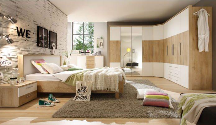Фото угловых шкафов в спальне