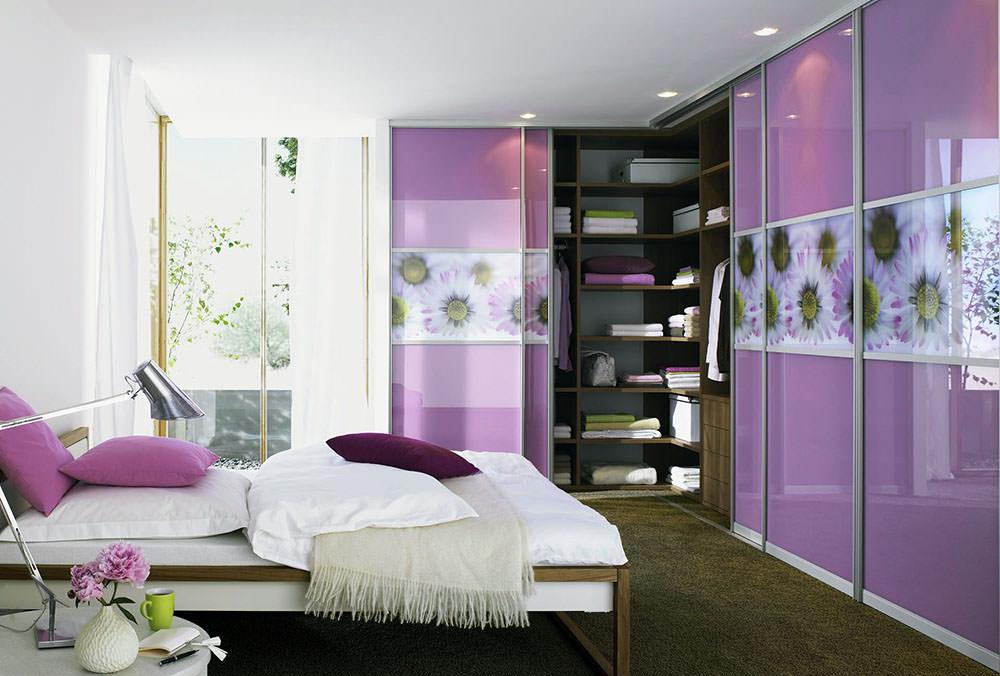 спальня с угловым шкафом наполнение размеры дизайн фото