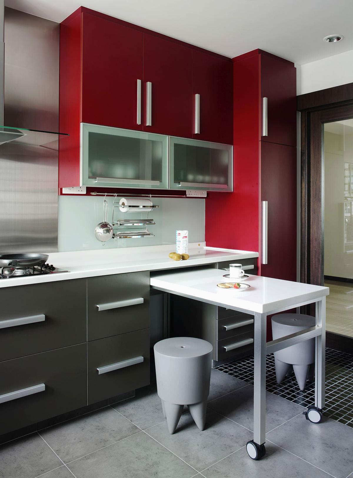 фото маленькие кухни с барной стойкой