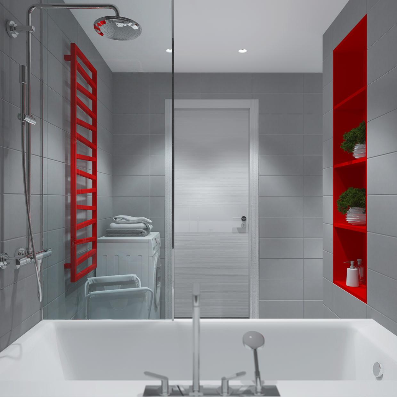 Дизайн ванны с на 3 кв м