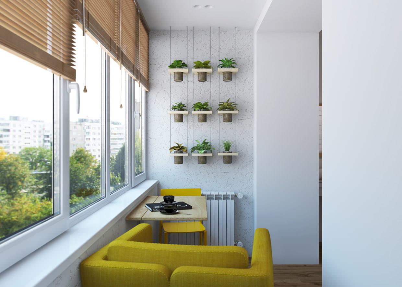 Как сделать интересный и уютный дизайн лоджии в квартире, ка.