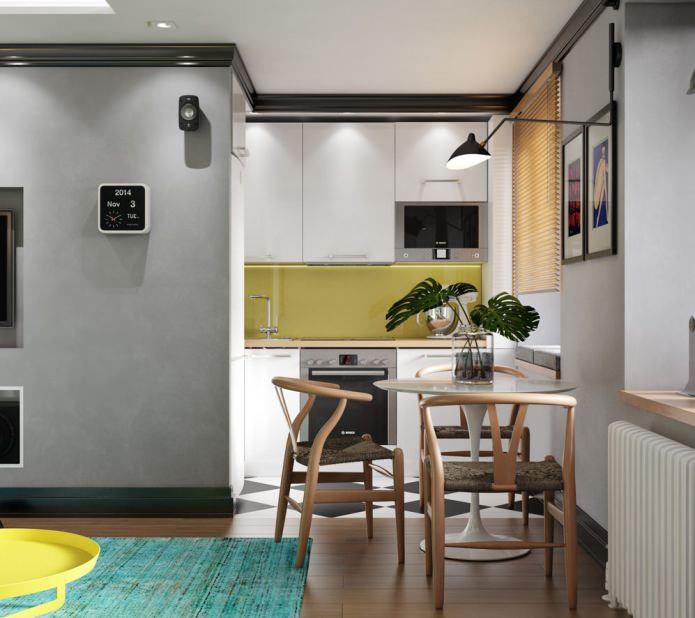 Красивый дизайн кухни в хрущевке: Дизайн кухни в хрущевке: фото, идеи, варианты обустройства