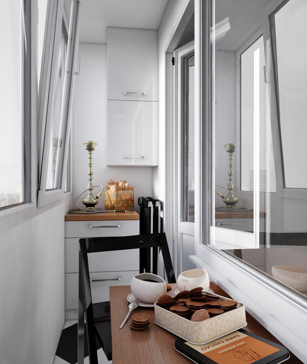 Балкон в хрущевке - 75 фото лучших идей дизайна.