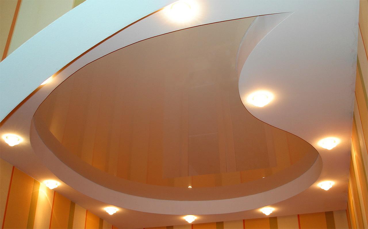 примеры подвесных потолков фото резкая