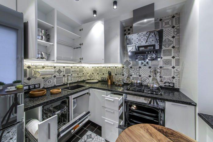 интерьер кухни в хрущевке
