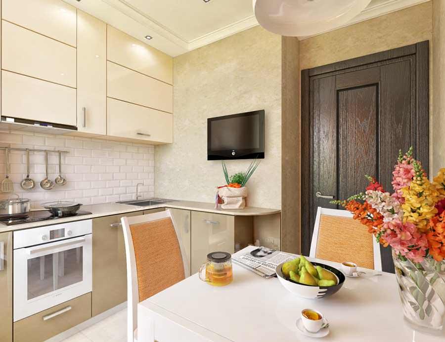 Кухня 8 кв метров идеи для кухни с котлом интерьеры фото