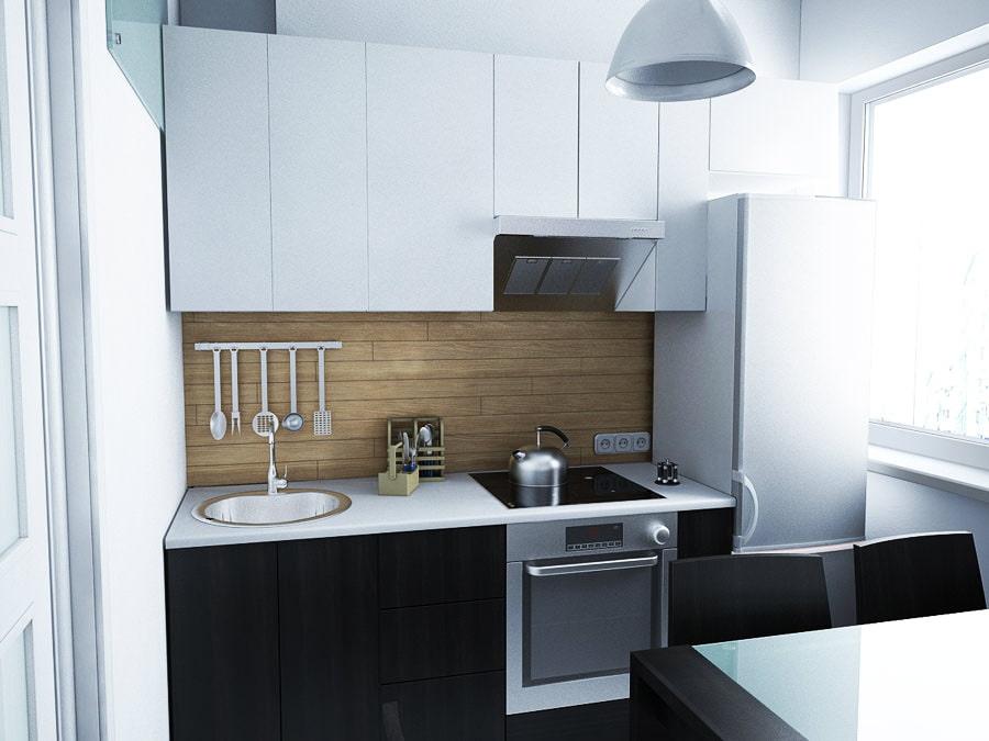 Маленькие кухни 6 кв.м дизайн фото хрущевка