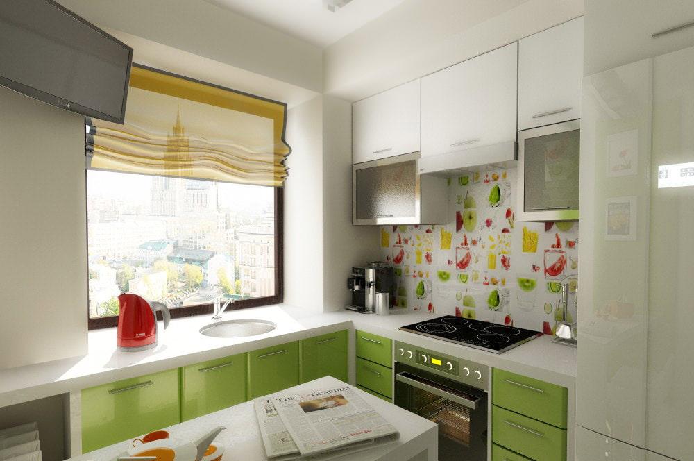 Как обустроить малогабаритную кухню в хрущевке: дизайн, фото, идеи