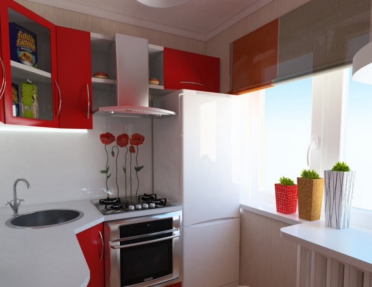 кухни хрущевка дизайн фото