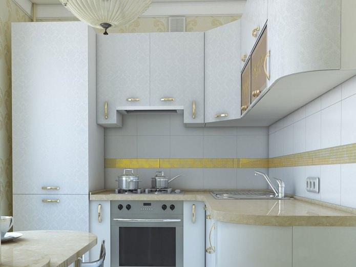 Дизайн кухни в хрущевке: фото, идеи, варианты обустройства