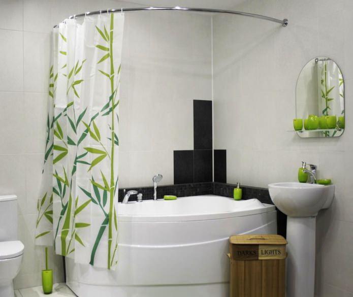 шторка для ванной комнаты