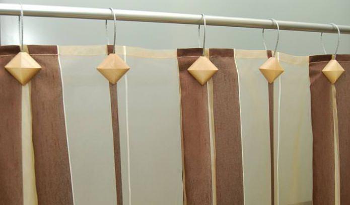 магнитные зажимы для крепления шторки для ванной комнаты