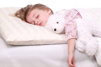 Как выбрать подушку ребенку