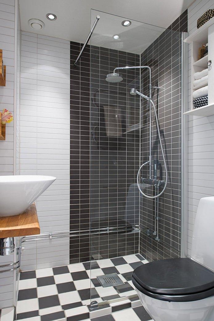 Black and white bathroom ideas gallery