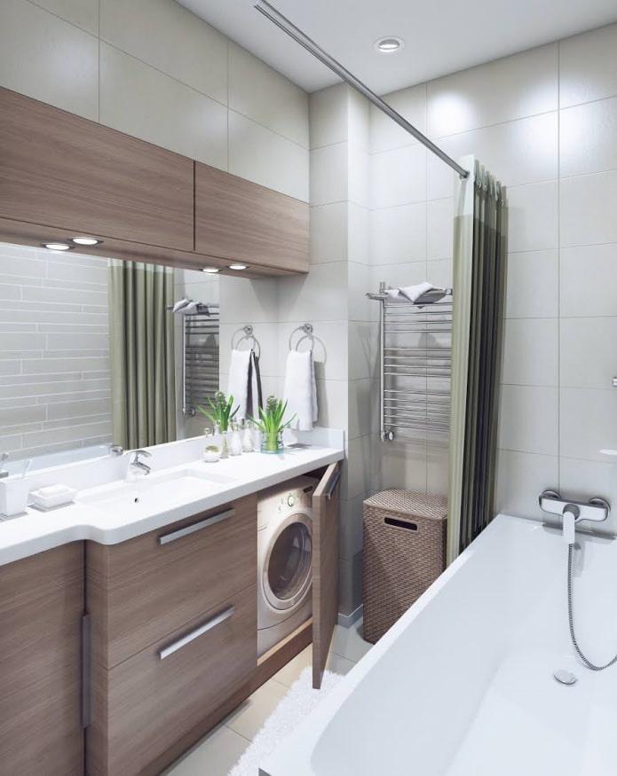 badgestaltung geringe gr e des zimmerphoto. Black Bedroom Furniture Sets. Home Design Ideas