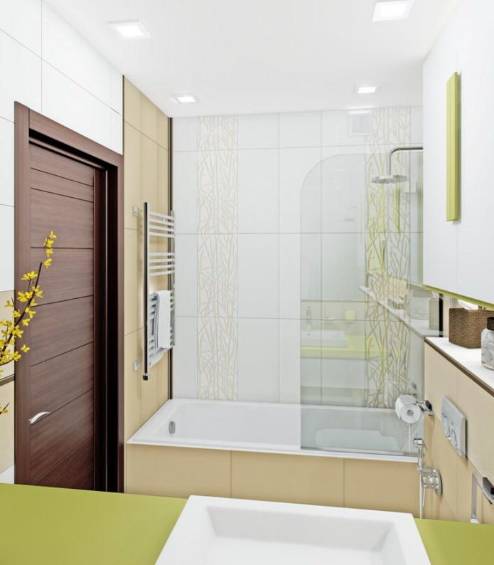 Дизайн ванной маленького размера: фото, идеи по оформлению