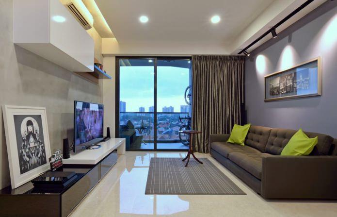 Стильный дизайн с панорамными окнами: фото и идеи