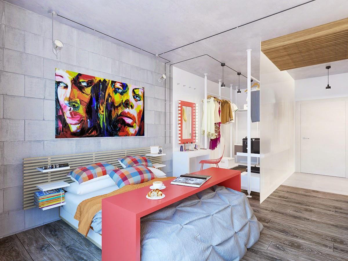 Маленькие квартиры для девушек фото