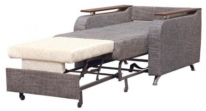 Механизмы для кресла-кровати: аккордеон, выкатной, дельфин, тик-так