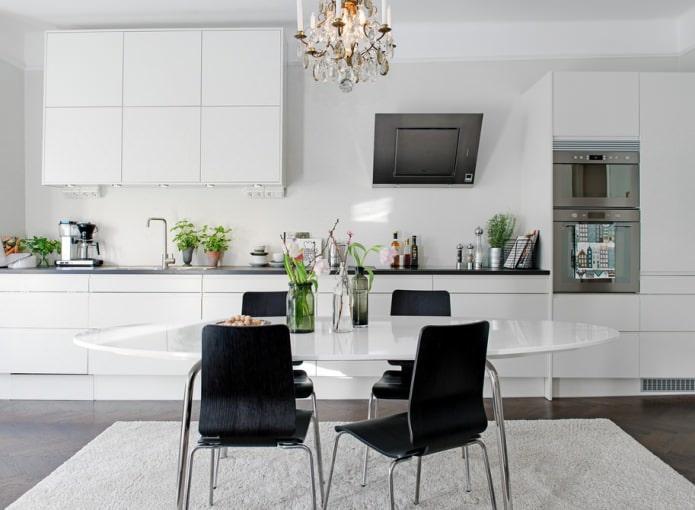 Кухонные стулья в интерьере