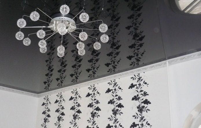 Плинтус потолочный из пенопласта для натяжного потолка