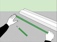 Как приклеить потолочный плинтус к натяжному потолку: подготовка
