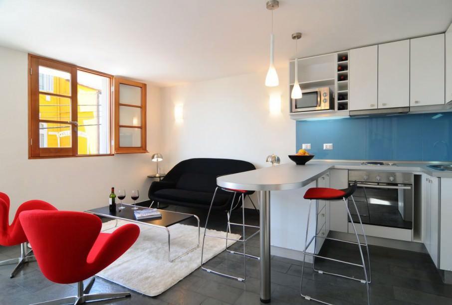 Разделение зон в однокомнатной квартире 20 кв.м фото
