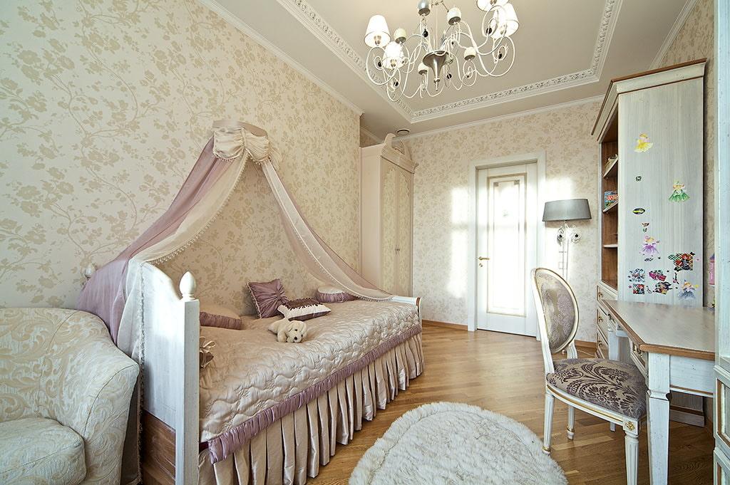 Дизайн комнаты классический стиль